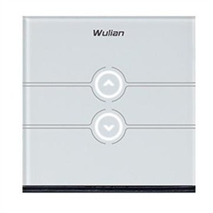 Wulian Wireless Touch Dimmer Switch(One Way,L type)