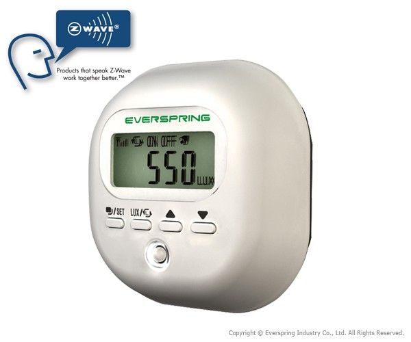 Everspring ST815 - Wireless Illumination Detector